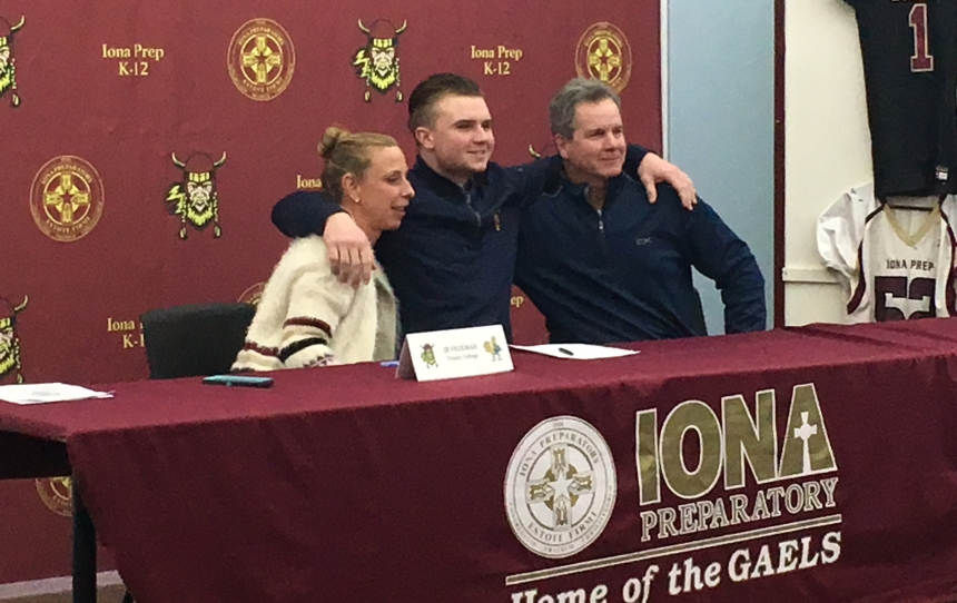 Signing Day: Seven Iona Prep players headed to college level